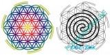Heilpad Ying-Yang Spirale
